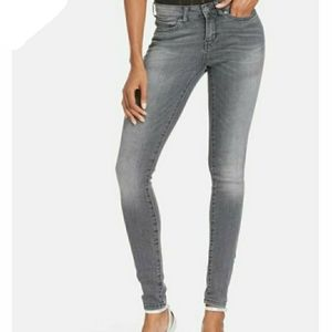 Noisy May Lucy NW Coffee Super Slim Denim Jeans 26